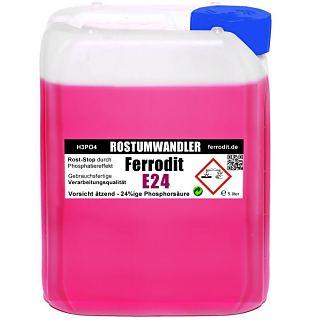 Rostumwandler / Speziell Rostentferner Ferrodit E24 5 LITER